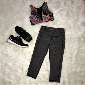Black & Gray Old Navy Athletic Leggings
